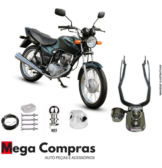Engate De Reboque Para Moto Honda Cg Titan Fan 125 150 160