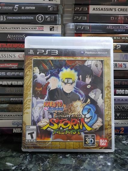 Naruto Shippuden Ultimate Ninja Storm 3 Full Burst *original