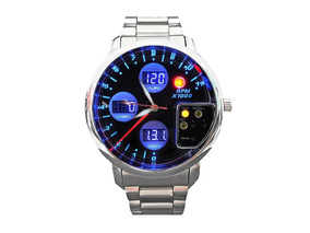 Relógio Auto Gauge Conta Giros Rpm Pressão Turbo