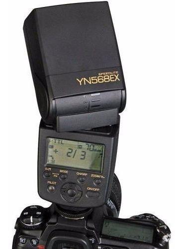 Flash Yongnuo Speedlite Yn568ex Ttl Para Câmeras Nikon