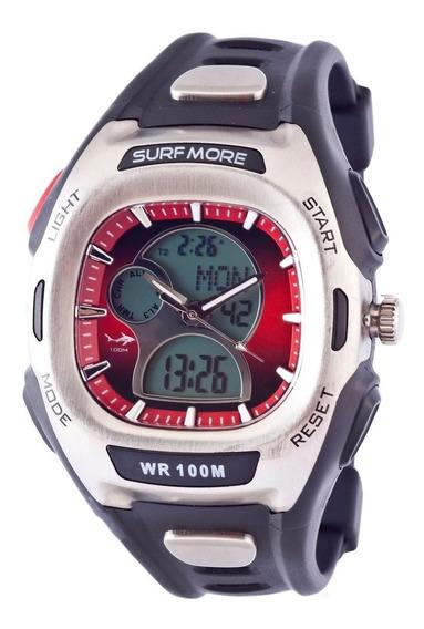 Relógio Masculino Anadigi Surfmore 1801391g - Preto Fundo Ve