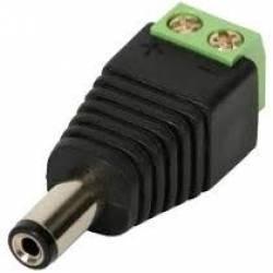 Conector Plug P4 Borne Macho Cftv E Outros 25und (11762)
