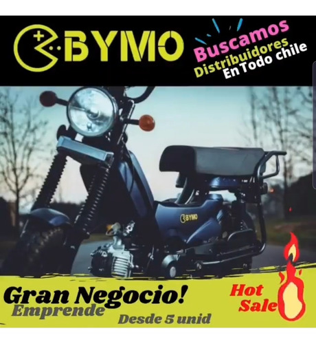 Imagen 1 de 5 de Bymo Mini 110cc