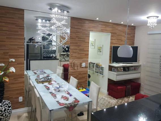 Apartamento Com 3 Dormitórios À Venda, 59 M² Por R$ 420.000 - Vila Pires - Santo André/sp - Ap9350
