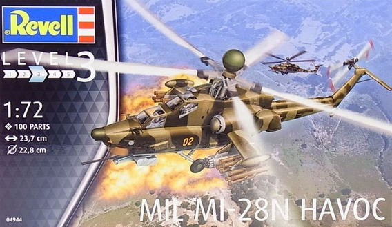 Revell 04944 Mil Mi-28n Havoc 1/72 Milouhobbies