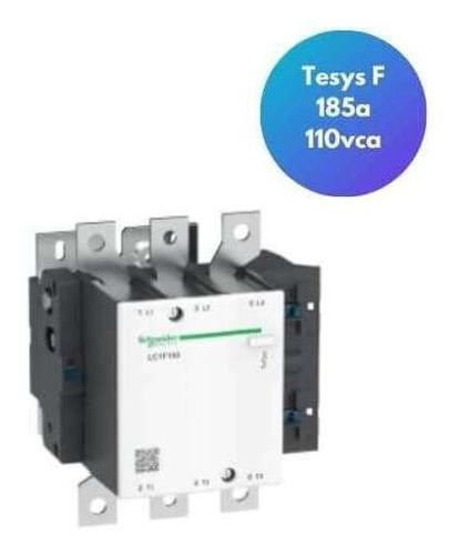 Imagem 1 de 1 de Contator Tripolar Tesys F 185a 220vca 40-400hz Lc1f185m7