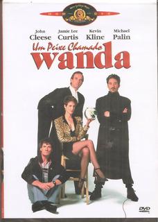 Dvd Um Peixe Chamado Wanda Com Jamie Lee Curtis 1988 +