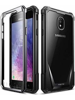 Guardian Poetico Para Samsung Galaxy J7 2018 Negro