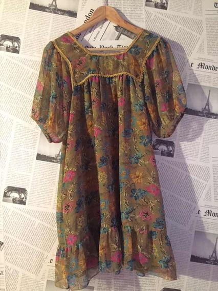 Vestido Floreado Rapsodia
