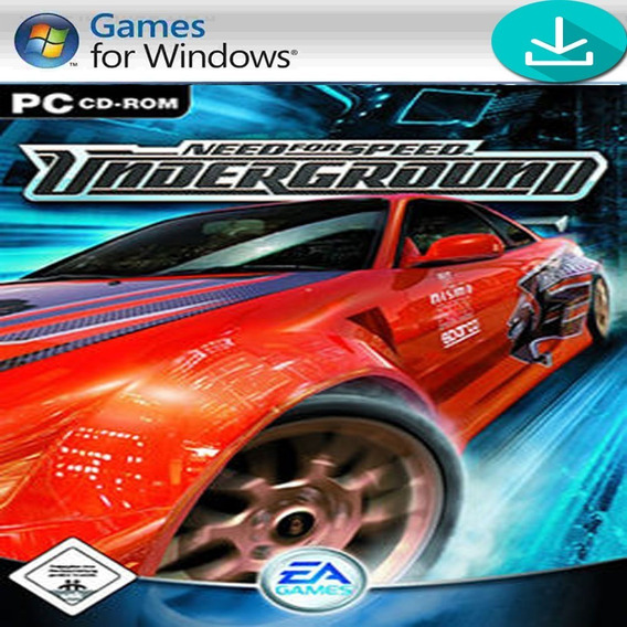 Need For Speed Underground Para Computador Pc Mídia Digital