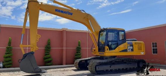 Excavadora Komatsu Pc 200 - Caterpillar John Deere Case