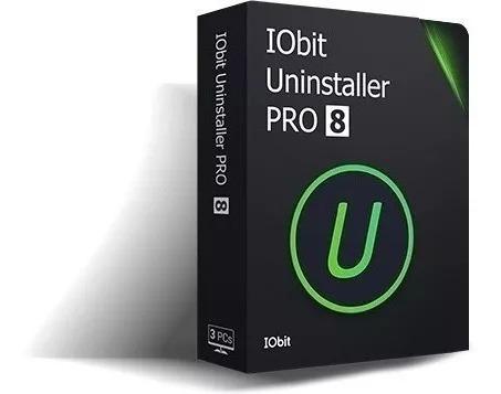 Iobit Uninstaller 8 Pro 8.6.0.6+versão Portable - Vitalício