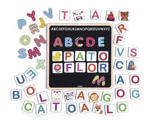 Quadro Magnético Alfabeto | Brinquedo Educativo