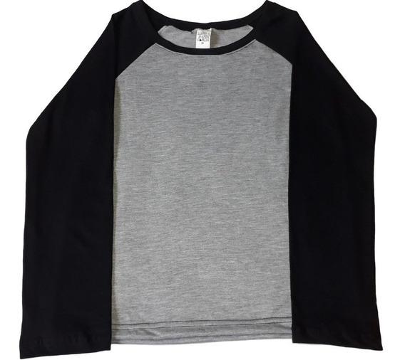 Blusa Poliéster Feminina Camisa Lisa Manga Longa