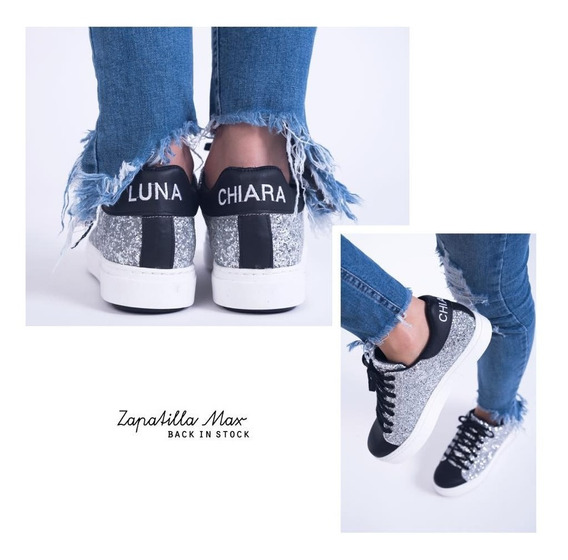 Zapatillas Luna Chiara Glitter