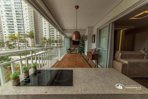 Imagem 1 de 18 de Apartamento Com 4 Dormitórios À Venda, 133 M² Por R$ 1.000.000,00 - Centro - São Bernardo Do Campo/sp - Ap0618