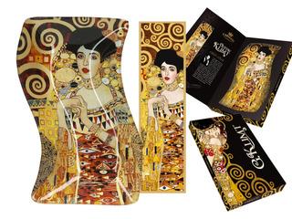 Plato En Cristal Irregular 18 X12.7 Cm Adele Klimt