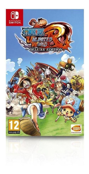Jogo One Piece Unlimited World Red Delux Edition - Nintendo