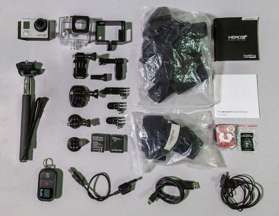 Go Pro 3+ 4k Black Edition + Acessórios