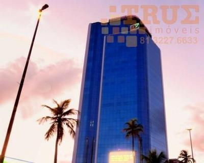 Sala Comercial Para Locação, Pina , Recife. 81 999253964 Com Whatsapp - Sa0043