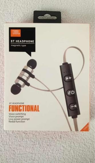 Fone De Ouvido Wireless Jbl Bt Headphones Magnético