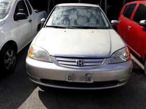 Honda Civic 1.7 Lx Aut. Prata 2001