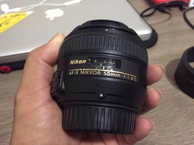 Lente Nikon 50mm 1.4g - Excelente! Sem Fungos!