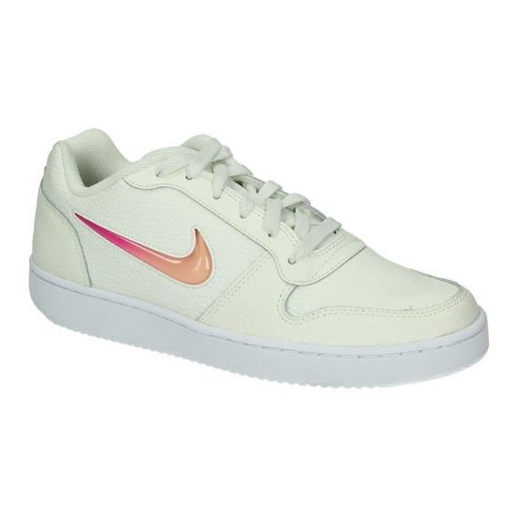Tenis Nike Ebernon Low Prem Beige/rosa Aq2232 100