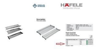 Escurreplatos Hafele 900 Mm 544.08.227 Con Bandeja