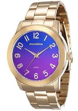 Relógio Mondaine Feminino Analógico Roxo 76481lpmvde1