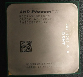 Amd Phenom Ii - Hdz965fbk4dgm Com Cooler