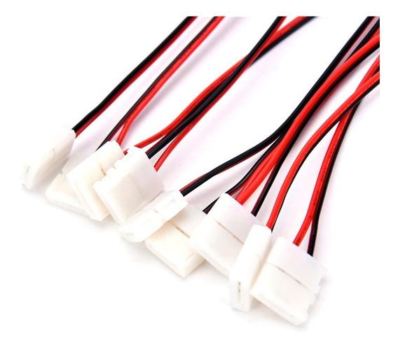 10 Broches Conector Tira Led Cable 5050 5730 Económico @px
