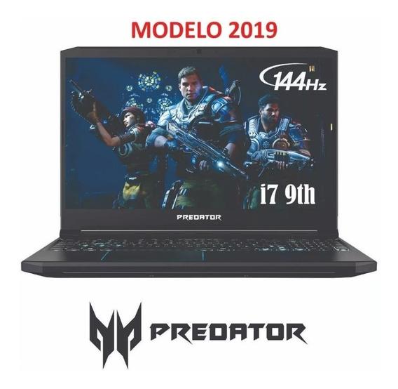 Acer Predator Helios 300 2019 144hz I7-9750h Gtx 1660 Ti 6gb