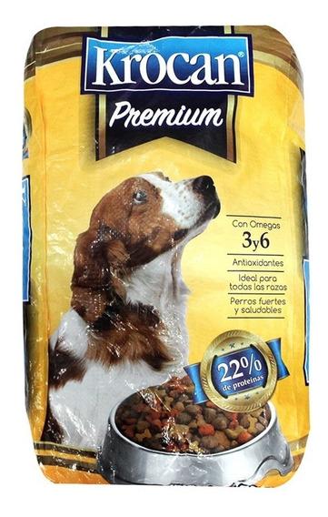 Krocan Premium Alimento Perro Bulto 25 Kg