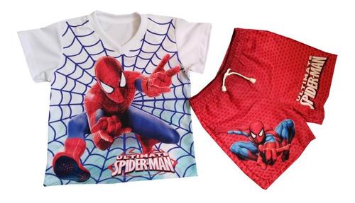 Conjunto Deportivo Del Hombre Araña - Spiderman