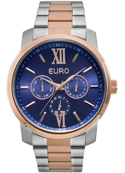 Relógio Euro Feminino Multifunção Eu6p29agw/5a Estlio Mk