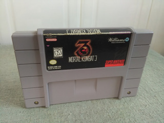 Mortal Kombat 3 Super Nintendo