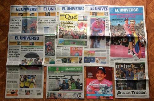 Richard Carapaz Giro Italia 2019 Set Reportajes El Universo