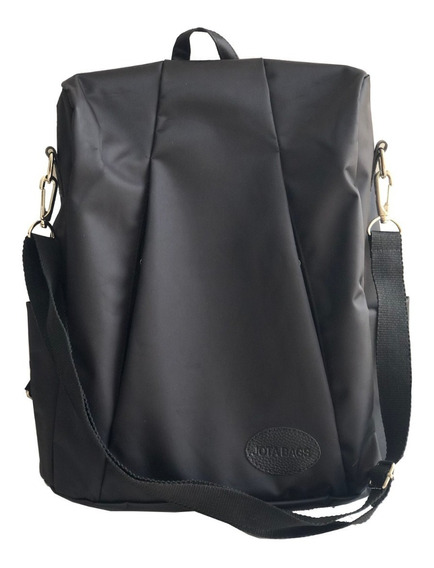 Mochila Morral Mujer Hombre Impermeable Dama Porta Notebook