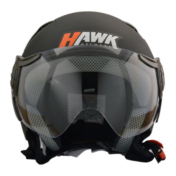 Casco Hawk Rs9 Negromate Motocity
