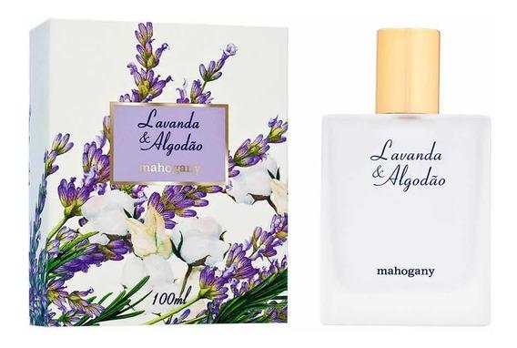 Fragrância Desodorante Lavanda E Algodão 100ml + Brinde - Mahogany