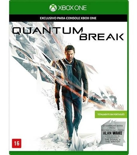 Quantum Break + Alan Wake - Xbox One Físico Novo E Lacrado
