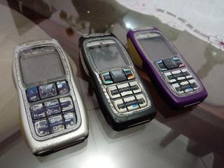 Lote Nokia 3220 De Celurares Para Concerto E Peças Leia