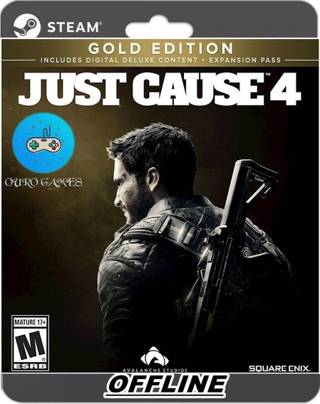Just Cause 4 Gold Edition Pc Original Steam + Todas Dlc