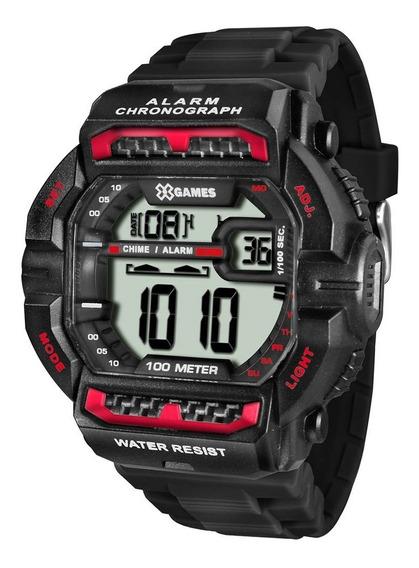 Relógio Masculino X-games Xgppd086 Bxpx Preto