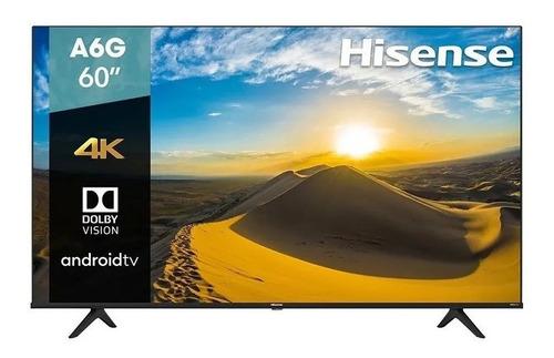 Smart Tv 60 Hisense 4k Uhd Hdr10 Dolby Usb Hdmi 60a6g