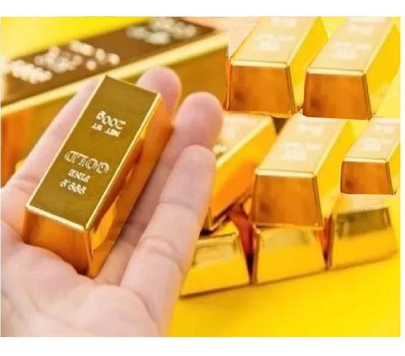 Ouro Barra Laminada 18k 10g. Certificada 12x Cartão 10 Anos