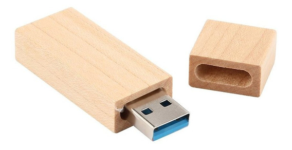 Tira De Madeira Usb 3.0 Flash Drive Rápido Memória Stick Pen