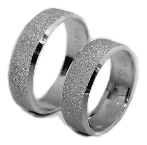 Argollas Matrimonio Plata+estuche+arras+marcación+envío