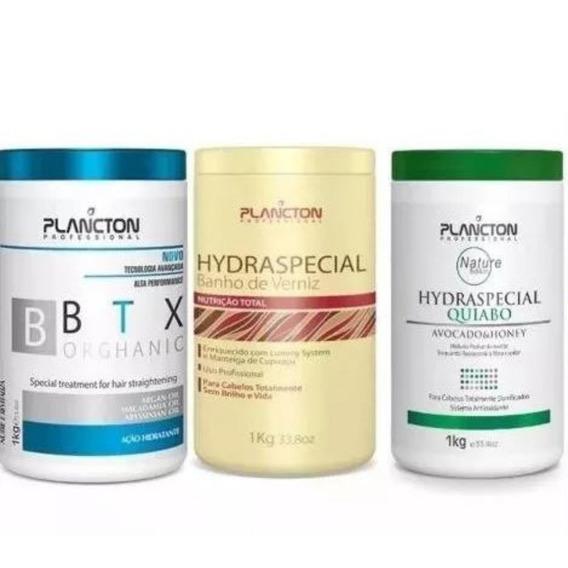 Plancton Verniz 1kg + Quiabo 1kg + Botox Btx 1kg